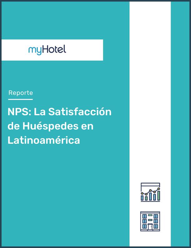 Portada reporte nps la satisfacción de huéspedes en latinoamérica